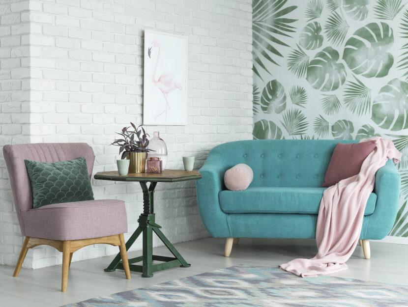 Idee per colorare la casa con i toni pastello
