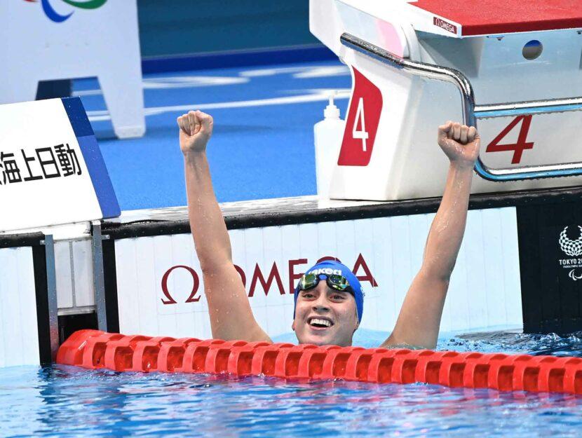 Carlotta Gilli alle Paralimpiadi di Tokyo 2020 ha vinto 5 medaglie: oro nei 100 metri farfalla, oro