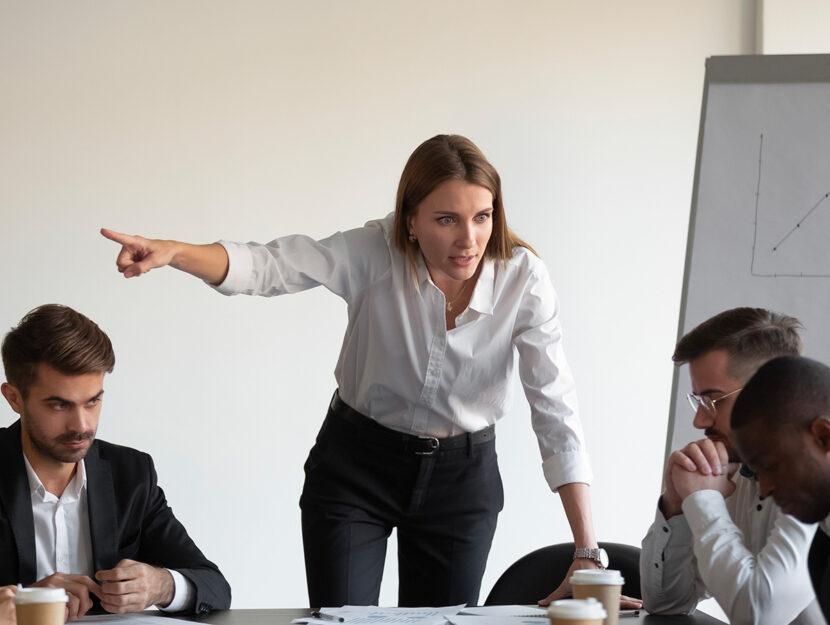 mediare tra una leader e gli altri dipendenti