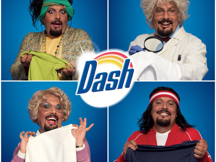 Dash sceglie Enrico Brignano per la nuova campagna