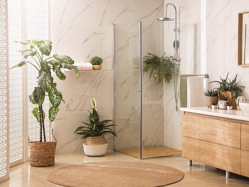 trasformare doccia in un'oasi di relax