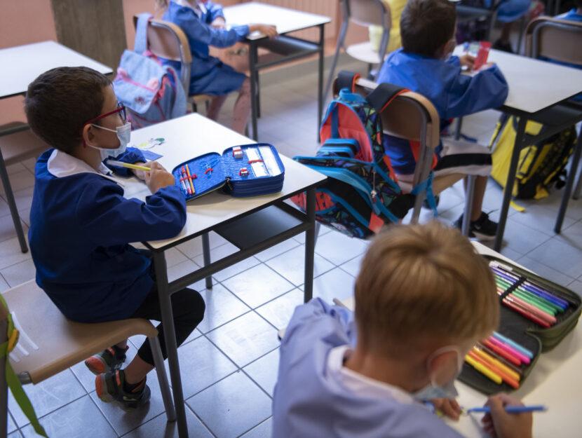 Bambini scuola covid