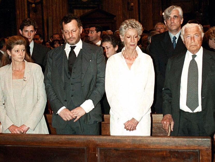 Margherita Agnelli famiglia Agnelli 2003